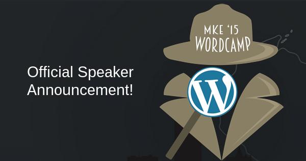 Speakers have been Chosen!